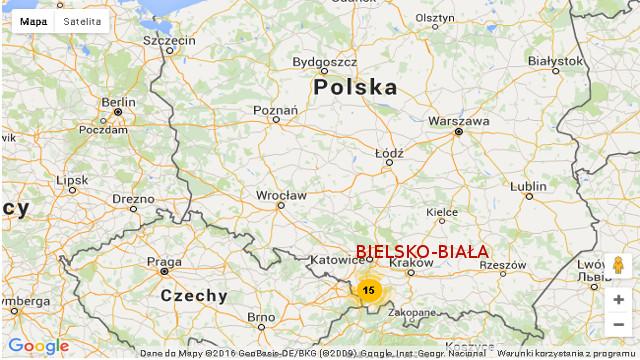 Mapa Bielsko Facelove Celina Piwko Jelonek Makijaz