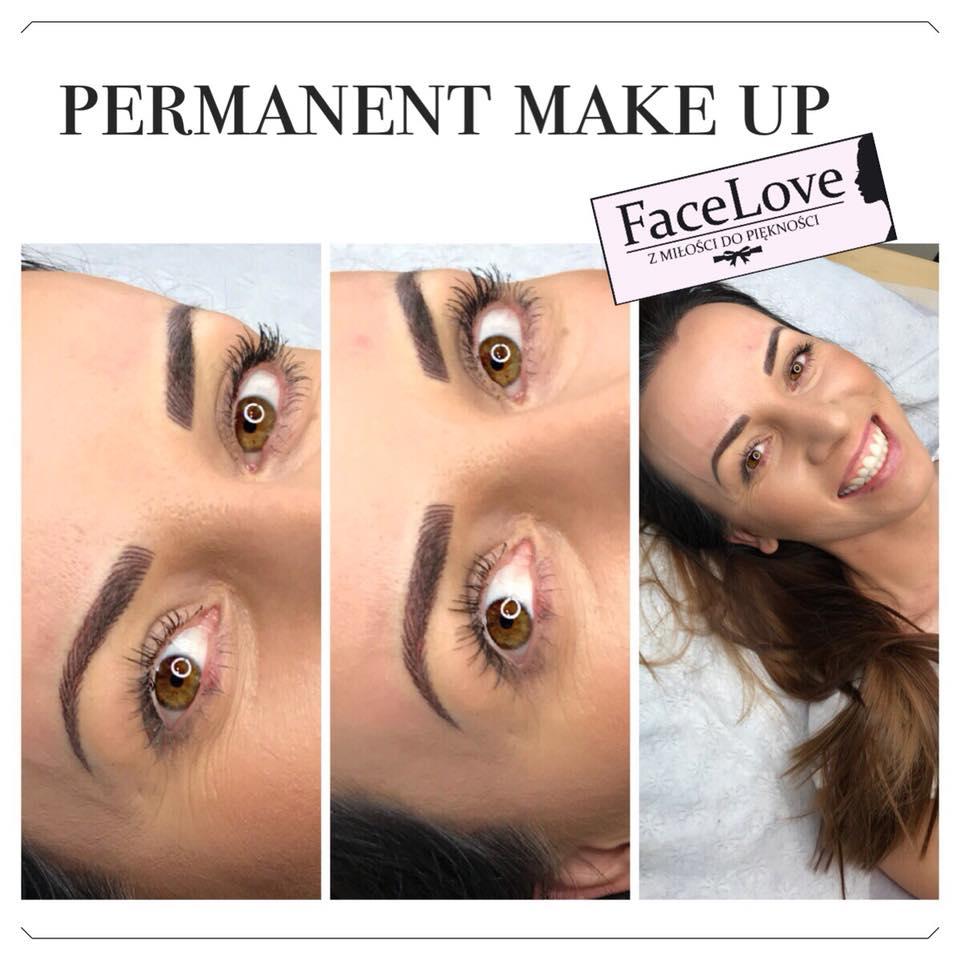 Mnogość Technik Makijażu Permanentnego Brwi Metody Makijażu Co