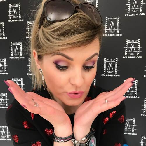 Podczas szkolenia w siedzibie Make-Up Atelier Paris Poland