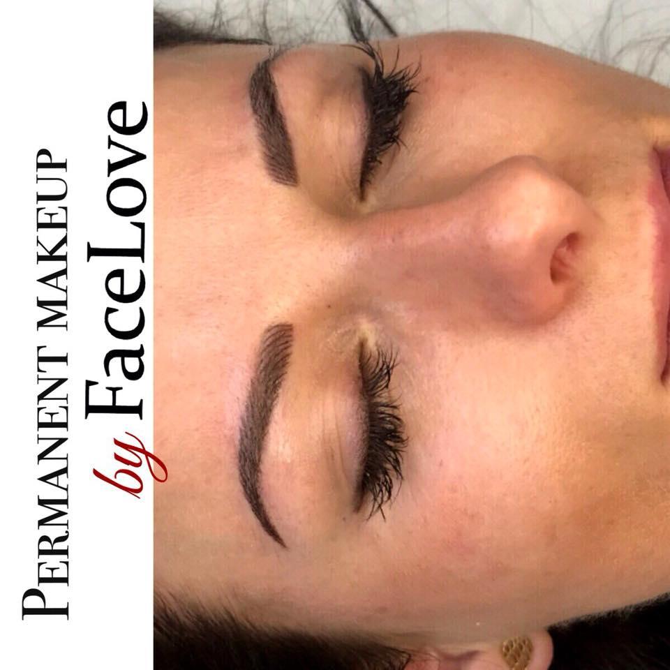 Makijaż permanentny metodą łączoną