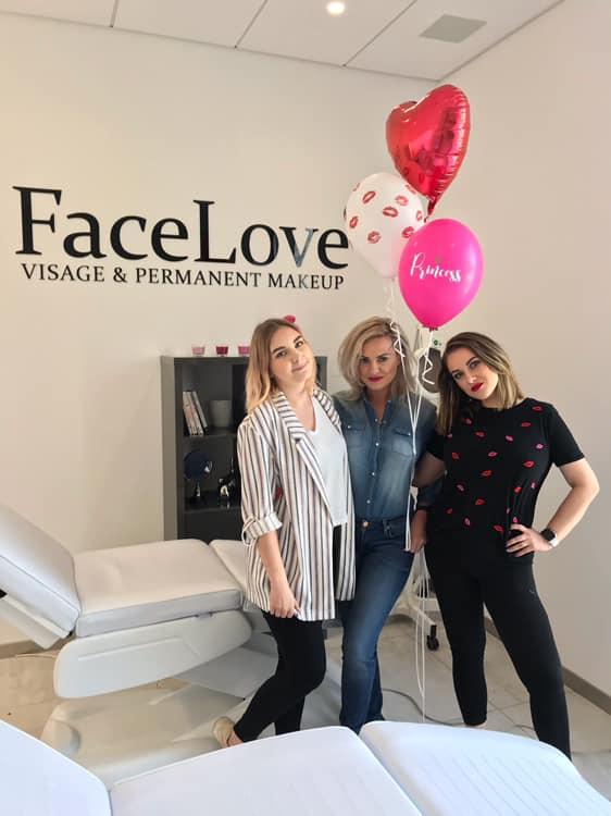 Nasza trójka z FaceLove: Paulina, ja i Małgosia